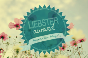 You have been nominated for a Liebster Award.